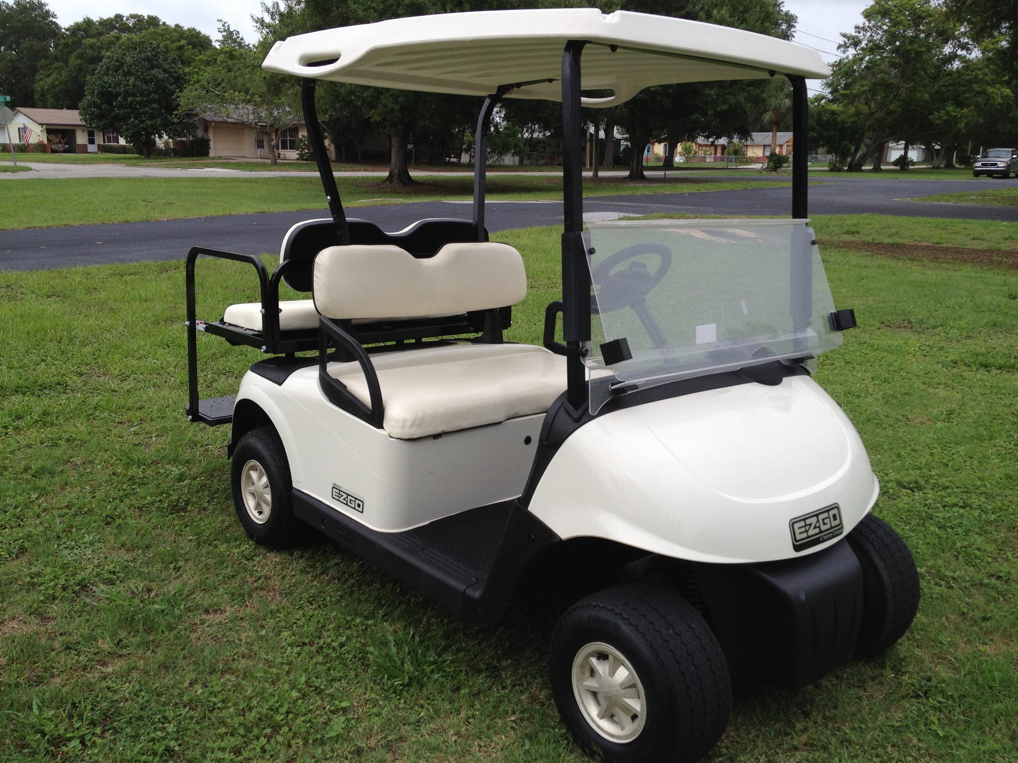 2009 ezgo rxv golf cart 4 seat tiger 39 s discount store. Black Bedroom Furniture Sets. Home Design Ideas