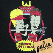 Beavis Butt Black Unisex T-Shirt