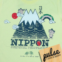 Nippon Light Yellow Unisex T-Shirt