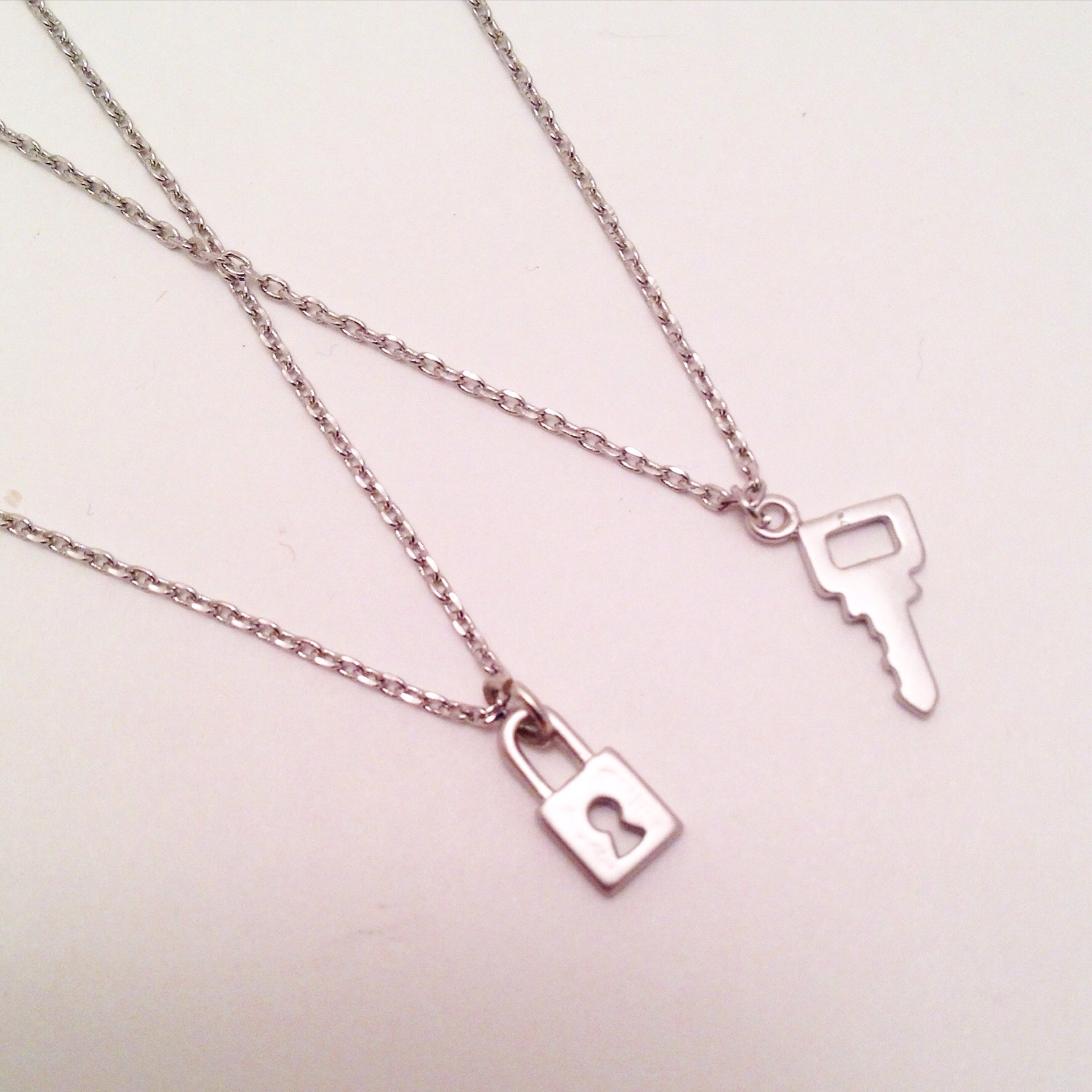 Youre the key to my lock necklace set the glo shop online youre the key to my lock necklace set thumbnail 3 aloadofball Image collections