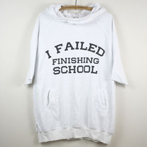 Wildfox Failed Finishing School Short Sleeve Hoodie