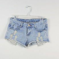 Denim Cutoff Shorts with Stars (Brand New)