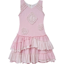Isobella & Chloe Sugar Cookie Pink Dress -Light Pink