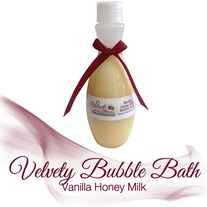 Vanilla Honey Milk Bubble Bath