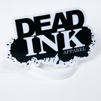 Dead Ink Die Cut Logo Sticker