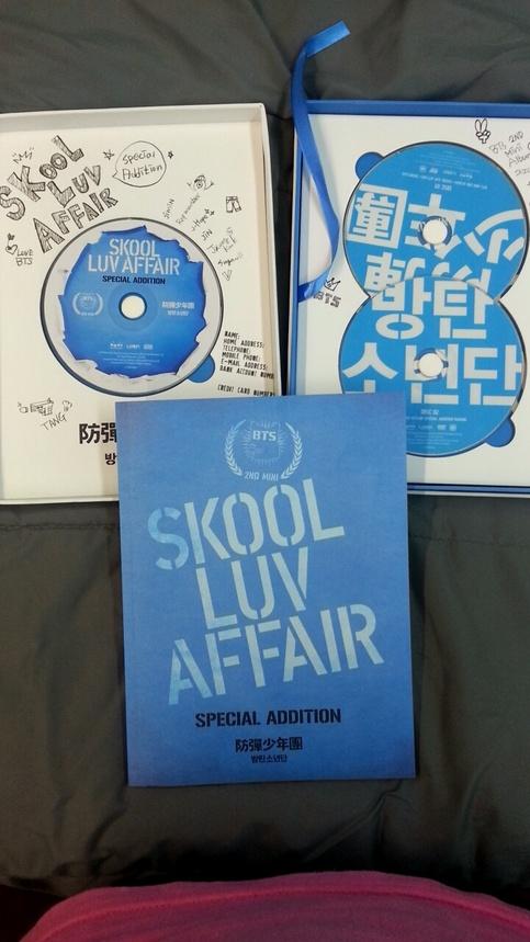 Skool Luv Affair Special Edition Bts Album On Storenvy