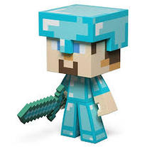 Minecraft Steve (Diamond Version)