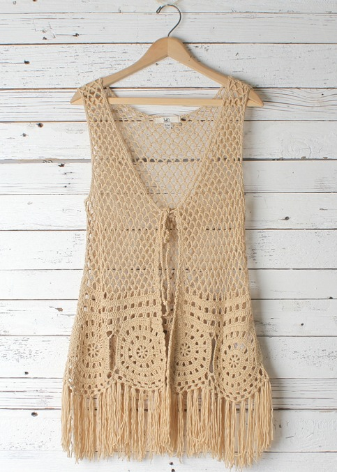 Claudia Back-To-Nature Vest