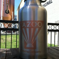 Stainless Steel Yazoo 64oz Growler