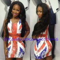 British flag mini dress