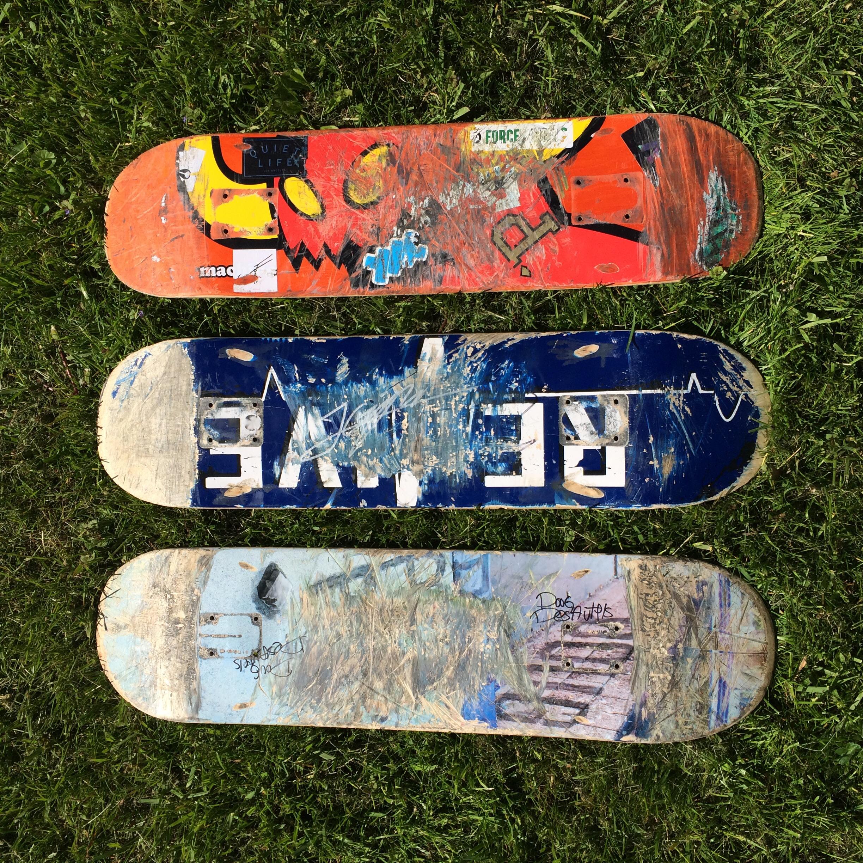 Used Skateboard Deck Your Skateboard Made Into A Minigreen  Minigreen   Online Store .