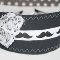 """I Mustache You a Question!"" Original headband"