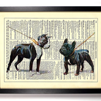 Image of Dog Day Afternoon, Vintage Dictionary Print, 8 x 10
