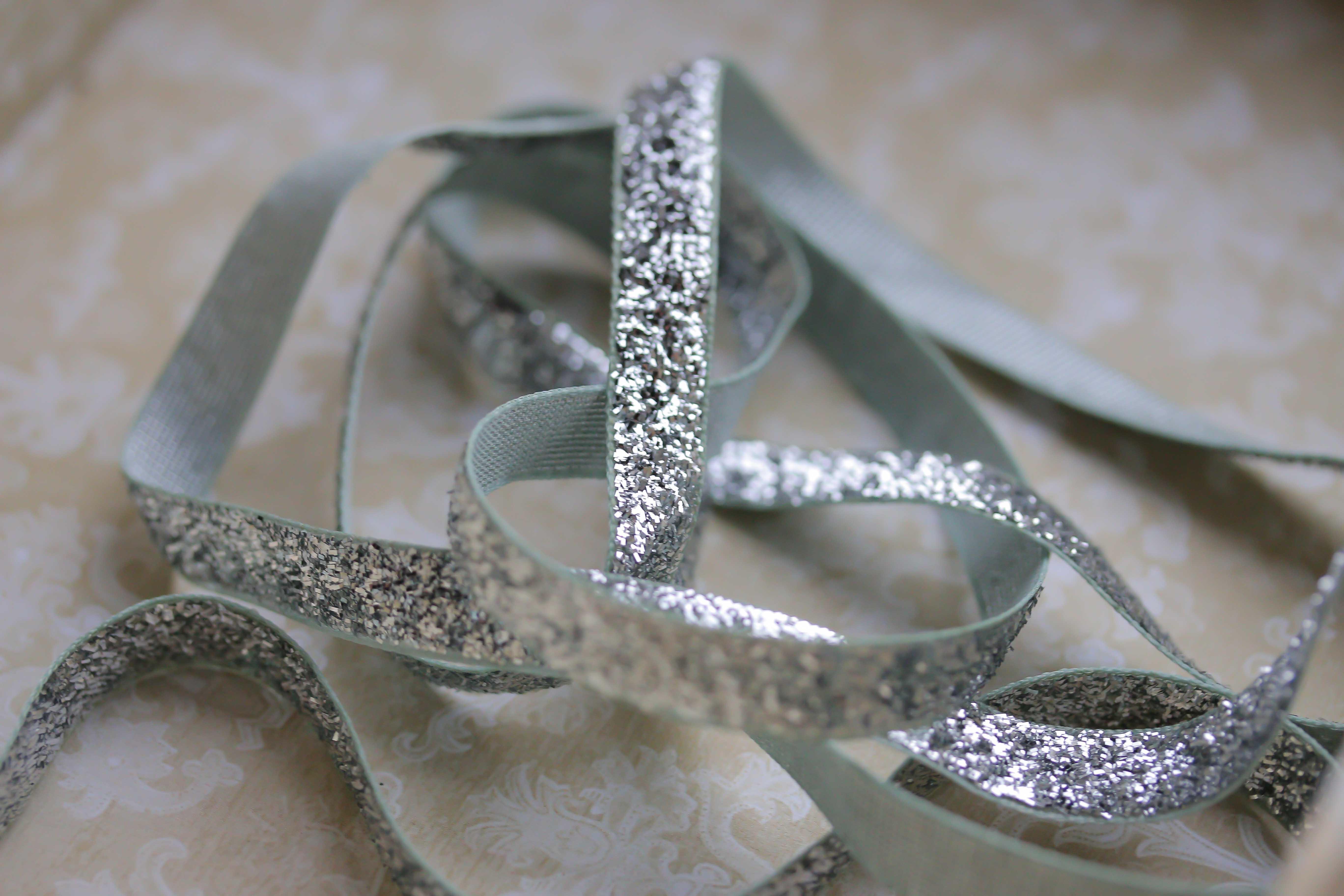 May Arts Metallic/Velvet - Silver · V's Sweet Ideas
