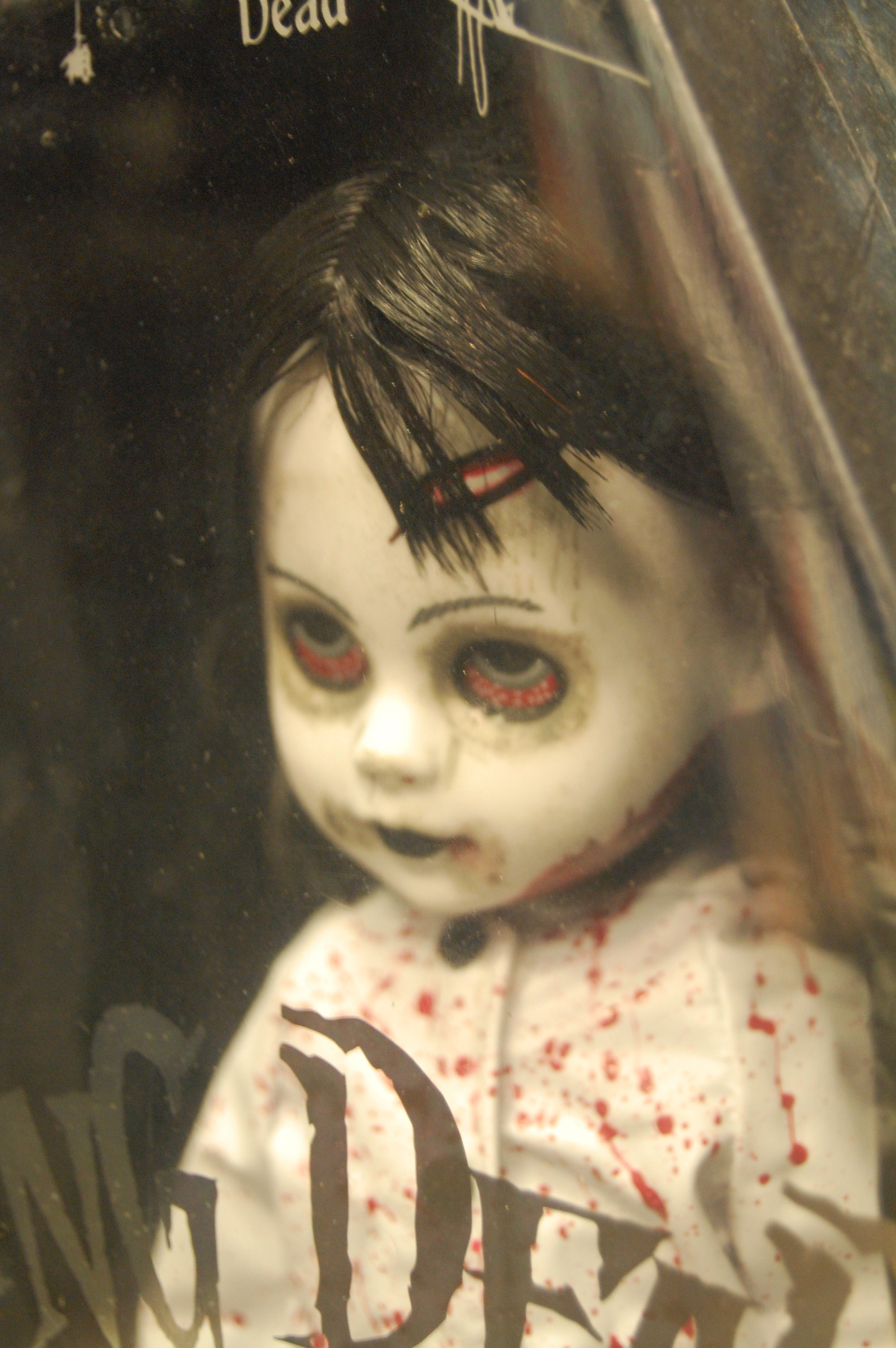 Living Dead Dolls Series 22: Ava (Black & White Variant) - Thumbnail 1