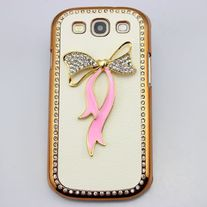 Gold Plated Case w/Bow (Samsung Galaxy S3)
