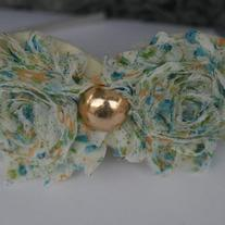 """Golden Girl"" Shabby Sass headband"