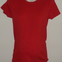 Red Short Sleeve Shirt-Motherhood Maternity Size Large  GS513
