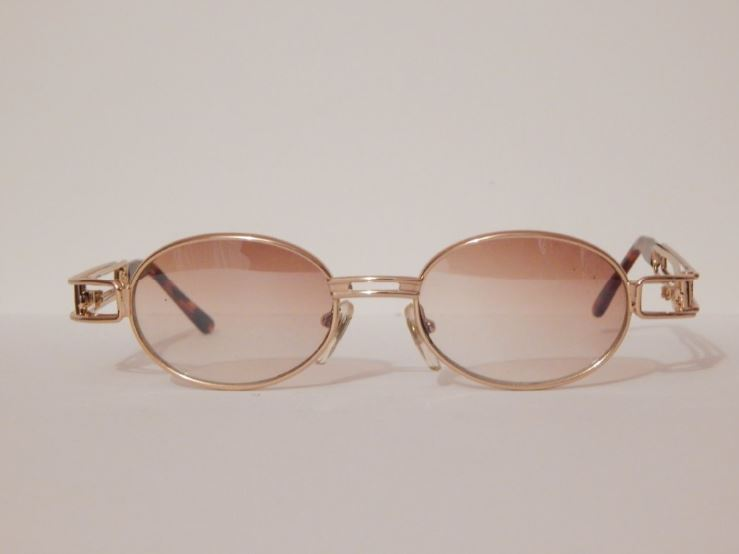 vintage gold oval gold frame sunglasses trill haus of vain overstock vintage online store powered by storenvy