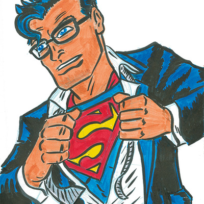 Original artwork- superman