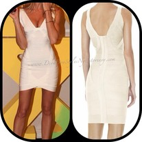 Summer White Bandage Dress