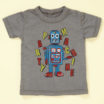 Chaser Kid Party Machine Robot Tee