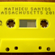 "Mathieu Santos (Ra Ra Riot) ""Massachusetts 2010"" - ltd. cassette /100 [3 colors] - Thumbnail 3"