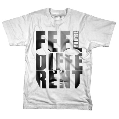 Feel you're different t-shirt