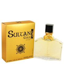 Jeanne Arthes - Sultane Gold Cologne 3.4 oz / 100 ml Eau De Toilette Spray for Men