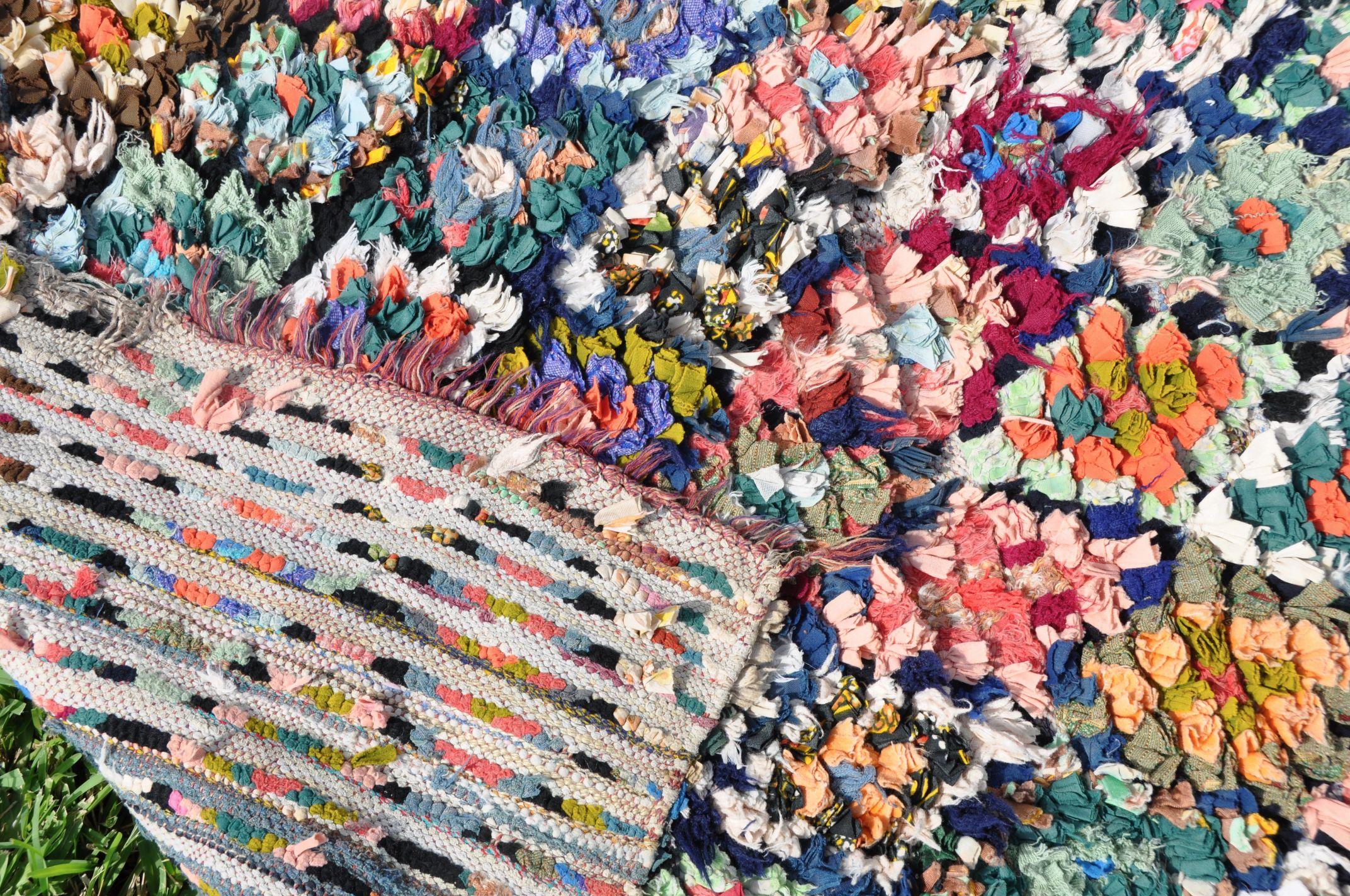 vintage boucherouite moroccan rug on storenvy. Black Bedroom Furniture Sets. Home Design Ideas