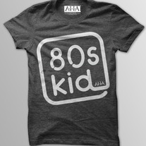 80's Kids - Men's Vintage Black Tri-Blend T-Shirt