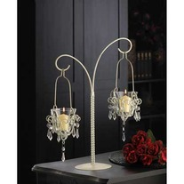 "#34693 ""Mini-Chandelier"" Votive Stand"
