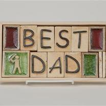 Best Dad - Gift Plaque