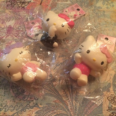 Huge Rare Squishy Collection : Rare hello kitty pose squishy set ? SuzyCupcake ? Online Store Powered by Storenvy