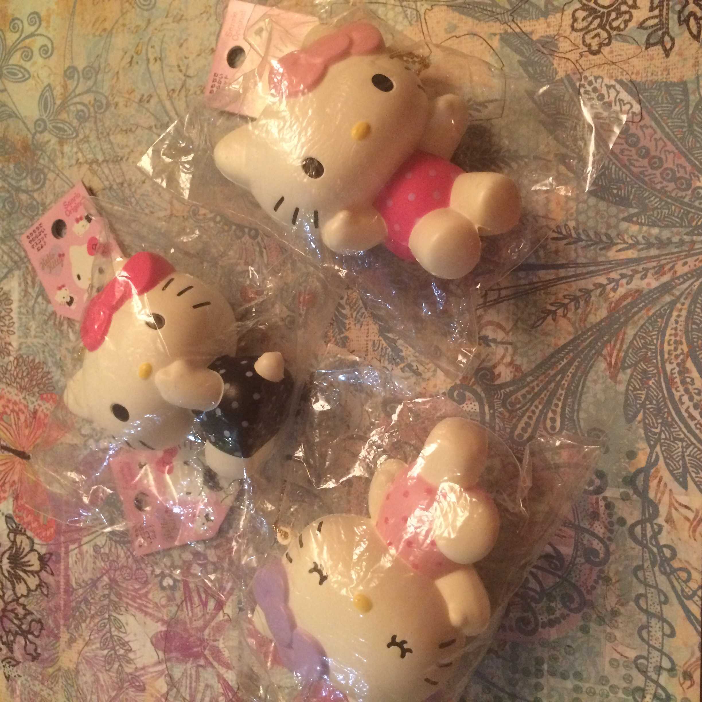 Squishy Collection Hello Kitty : Rare hello kitty pose squishy set ? SuzyCupcake ? Online Store Powered by Storenvy