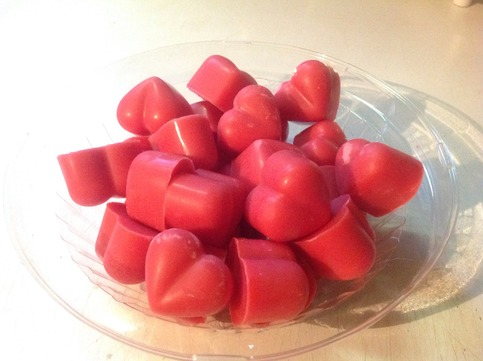 Cranberry Fig Heart Soy Wax Tart Melt · JelliTarts and Bubbly Suds ...