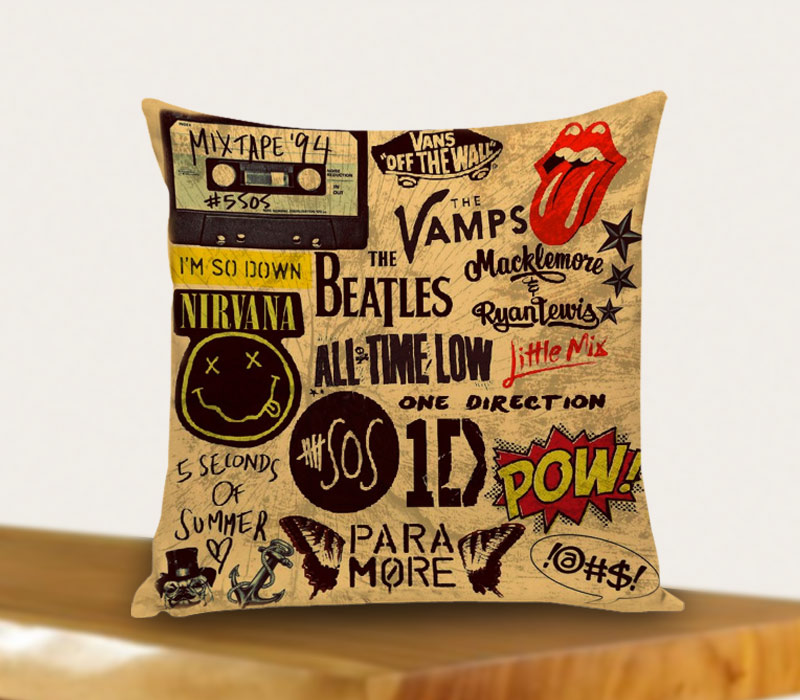 5 Seconds Of Summer One Direction Brotherhood 5sos Pillow