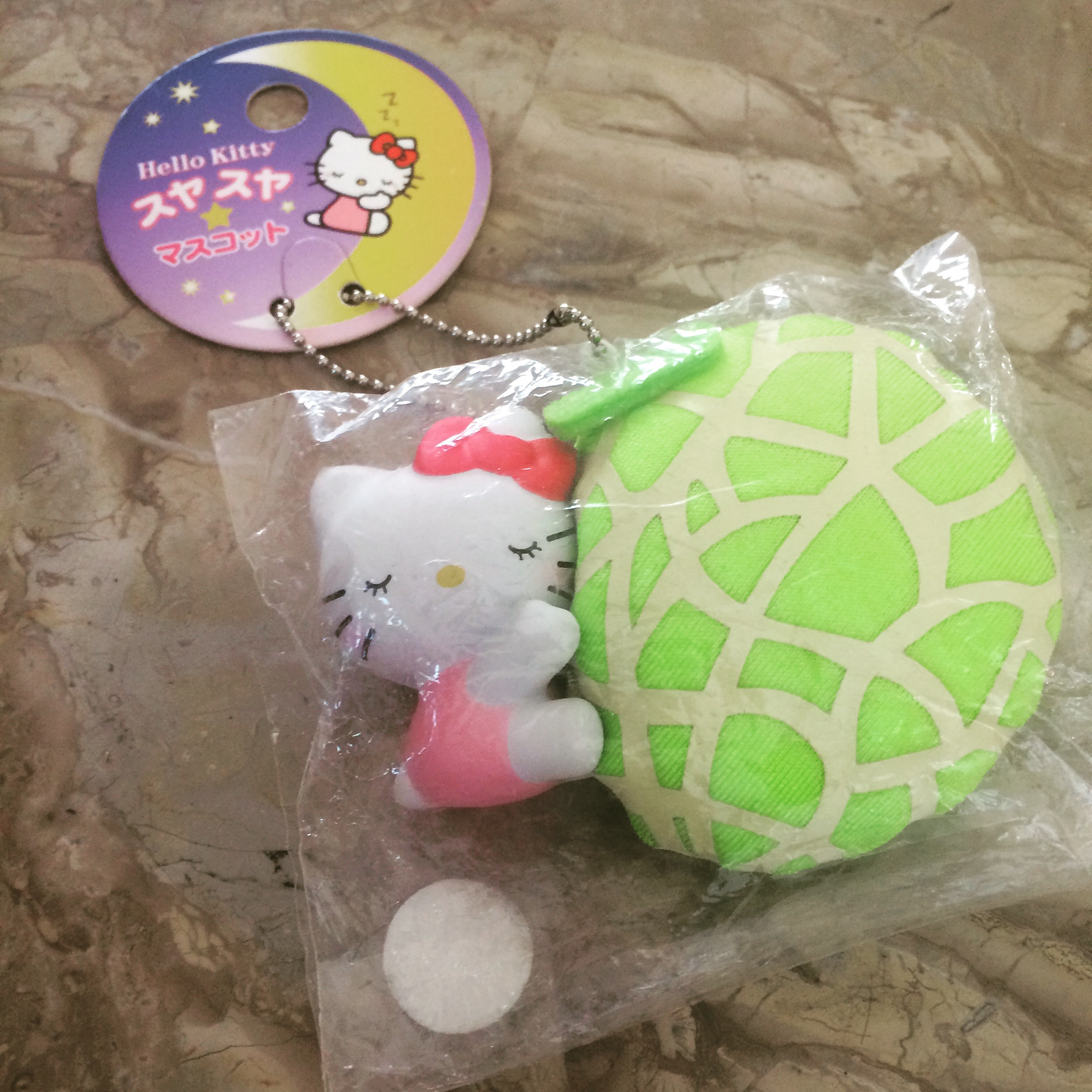 Squishy Rare : Rare hello kitty holding a melon plush squishy ? SuzyCupcake ? Online Store Powered by Storenvy
