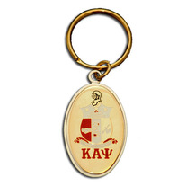 Kappa Alpha Psi Oval Shield Key Chain