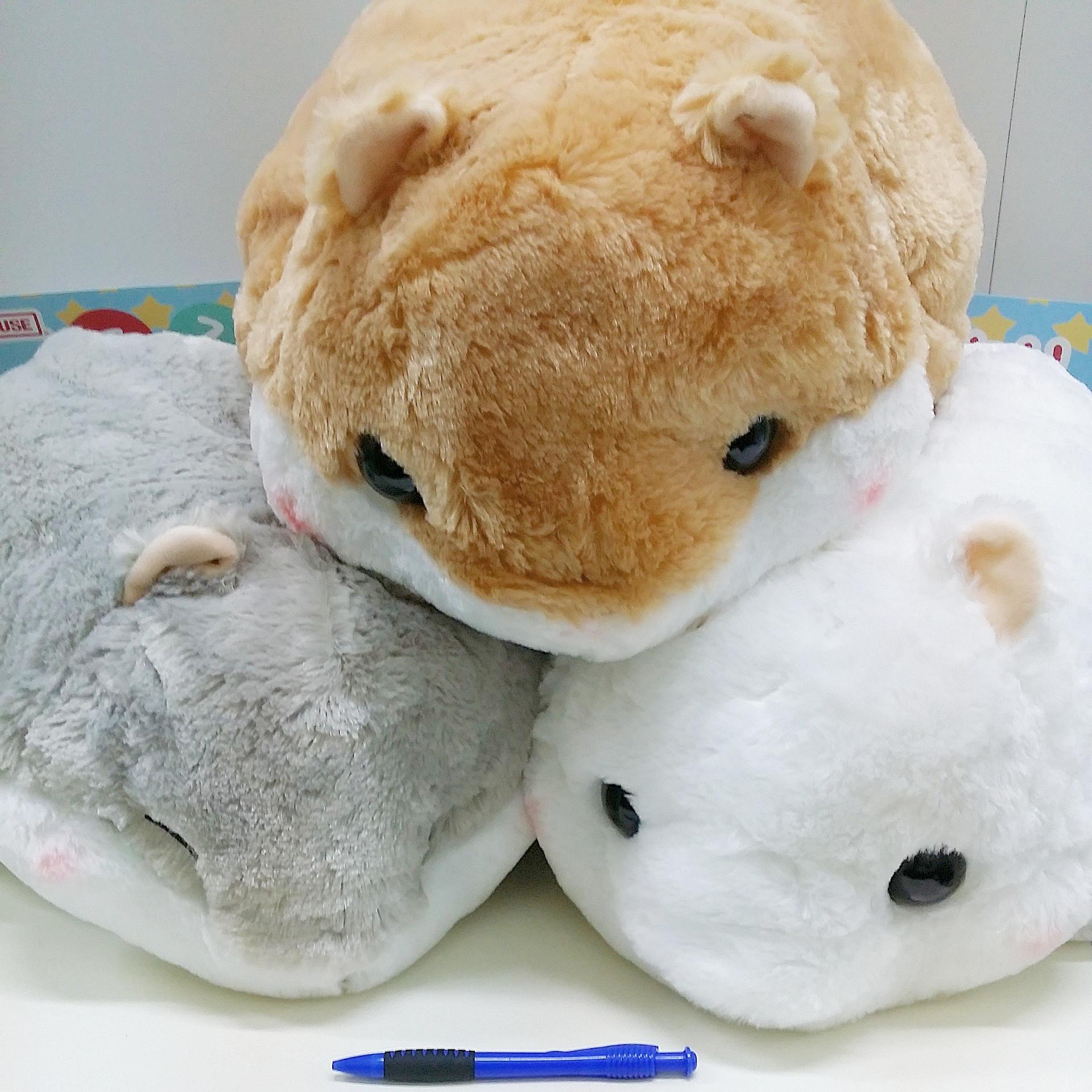 ROSY\'S GARDEN | (40cm ) Koro Koron Hamster Mochiri series plush toy ...