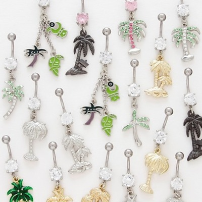 Belly button rings piercedperks online store powered for Belly button jewelry store
