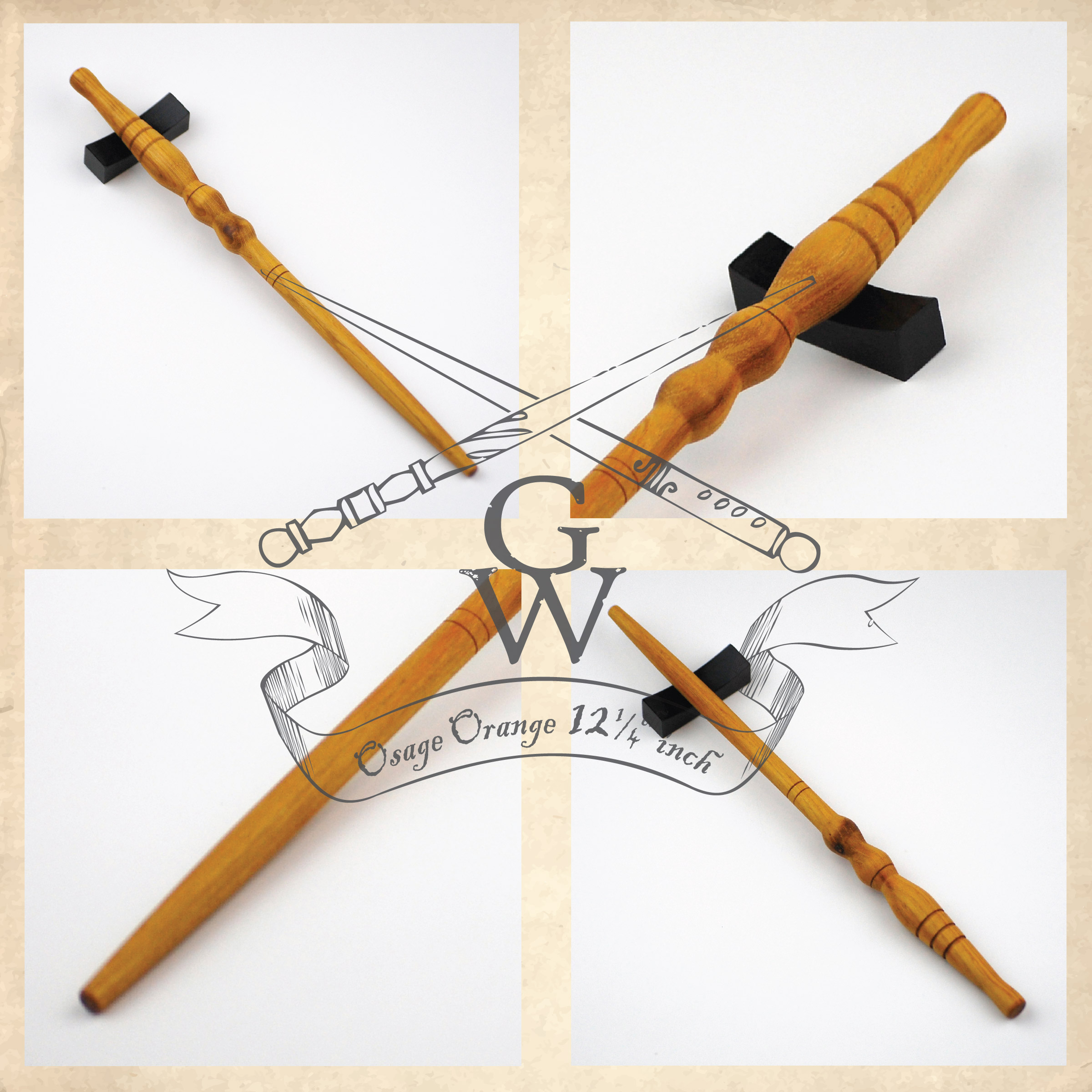 Osage Orange wand 10 1/8 inch · GipsonWands · Online Store ...