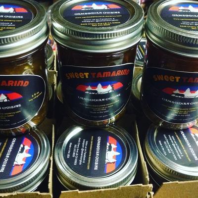 Sweet Tamarind Sauce (Teuk Ombil Pream)