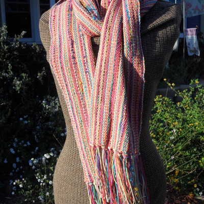 Springtime fiesta - orange scarf