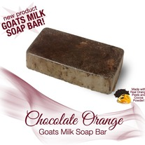 Chocolate Orange Soap Bar