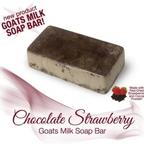 Chocolate Strawberry Soap Bar