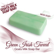 Green Irish Tweed Soap Bar