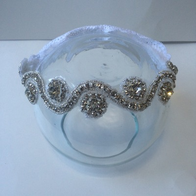 The mia rhinestone headband