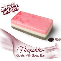 Neapolitan Soap Bar