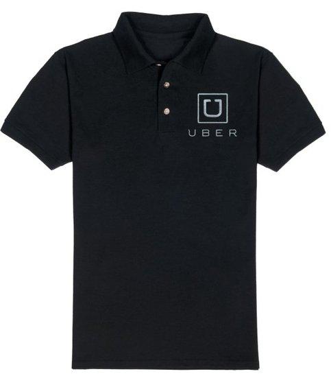 Mens UBER logo POLO SHIRT NEW Taxi Car Hire Service ...